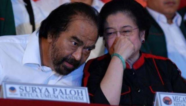 Ini Kata Politisi PDIP Soal Hubungan Megawati-Surya Paloh