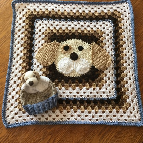 Puppy Throw - Free Pattern