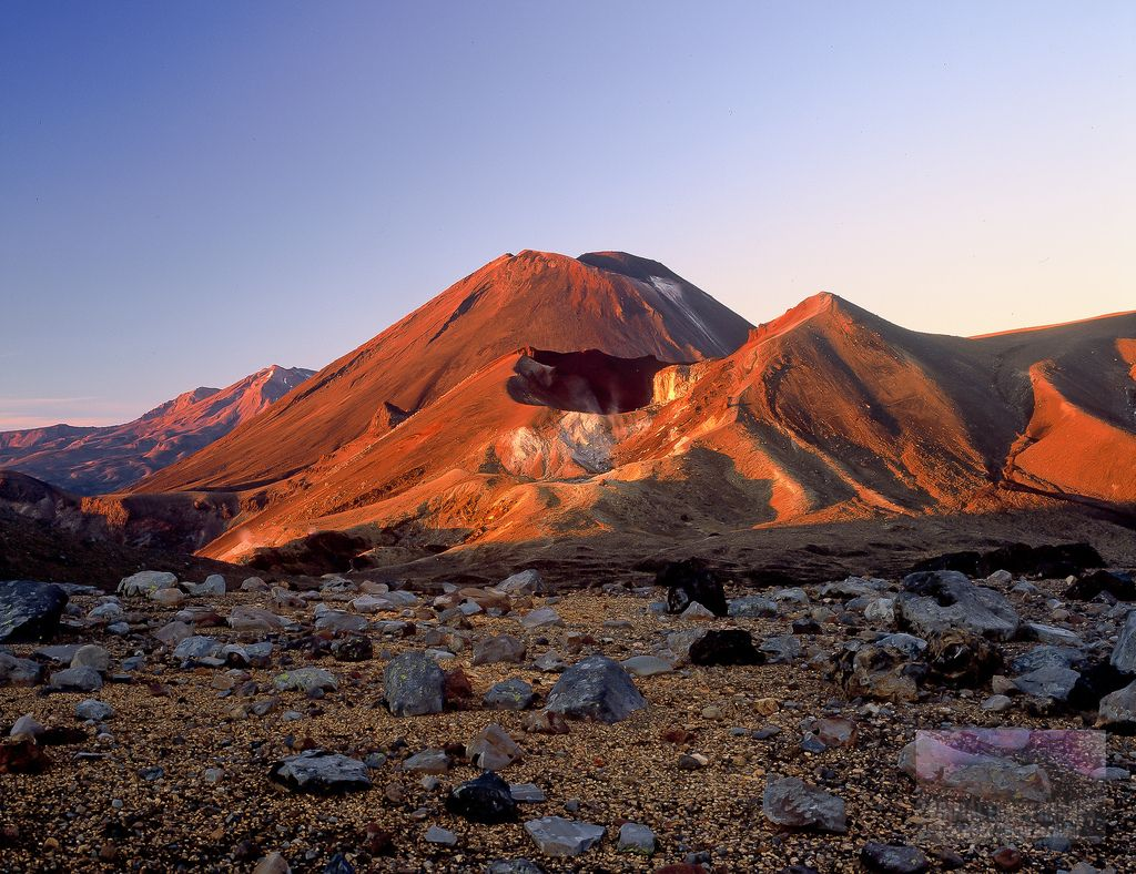 Summer Sunrise Tongariro Crossing