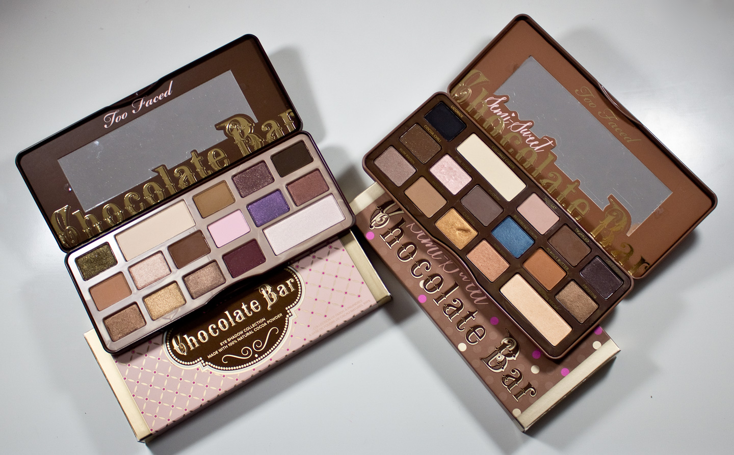 Warpaint And Unicorns Too Faced Chocolate Bar And Semi