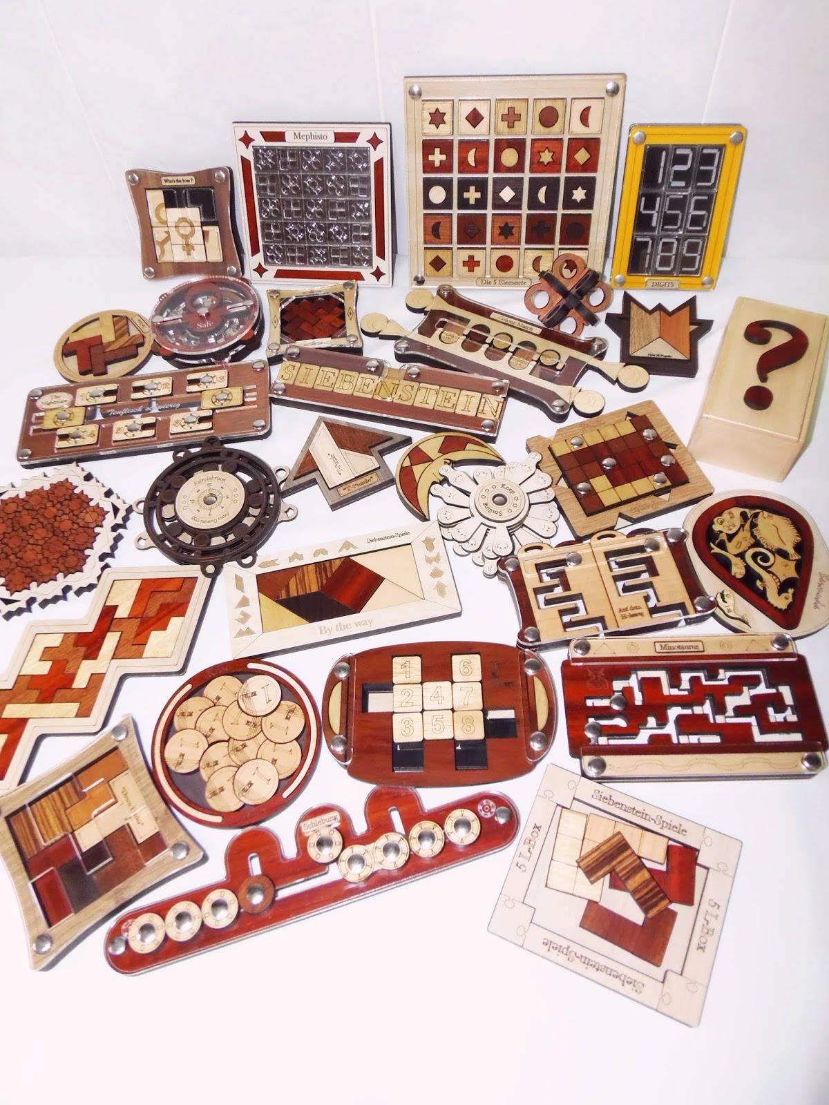 Gabriel Fernandes' Puzzle Collection
