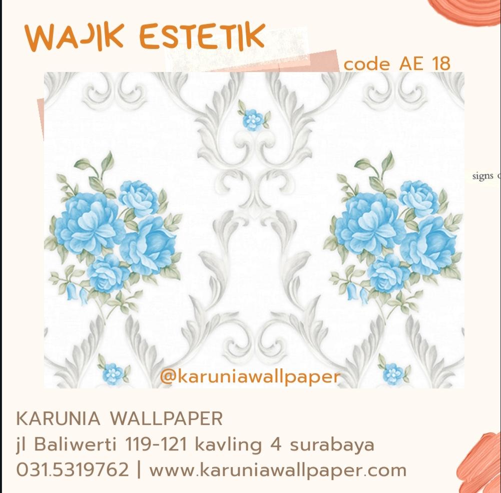 jual dekorasi wallpaper dinding estetik