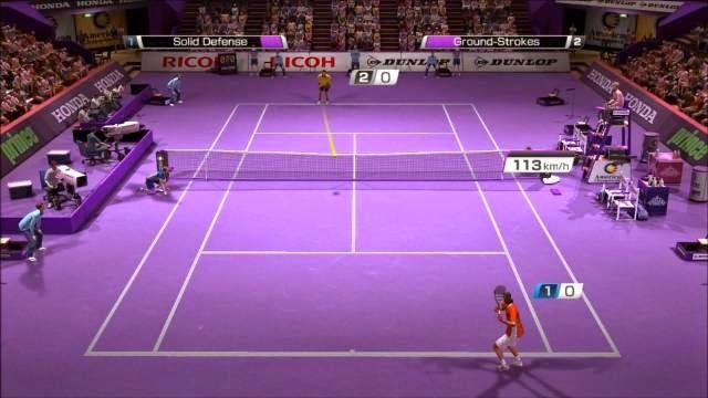 Virtua Tennis 4 PC Games Screenshots