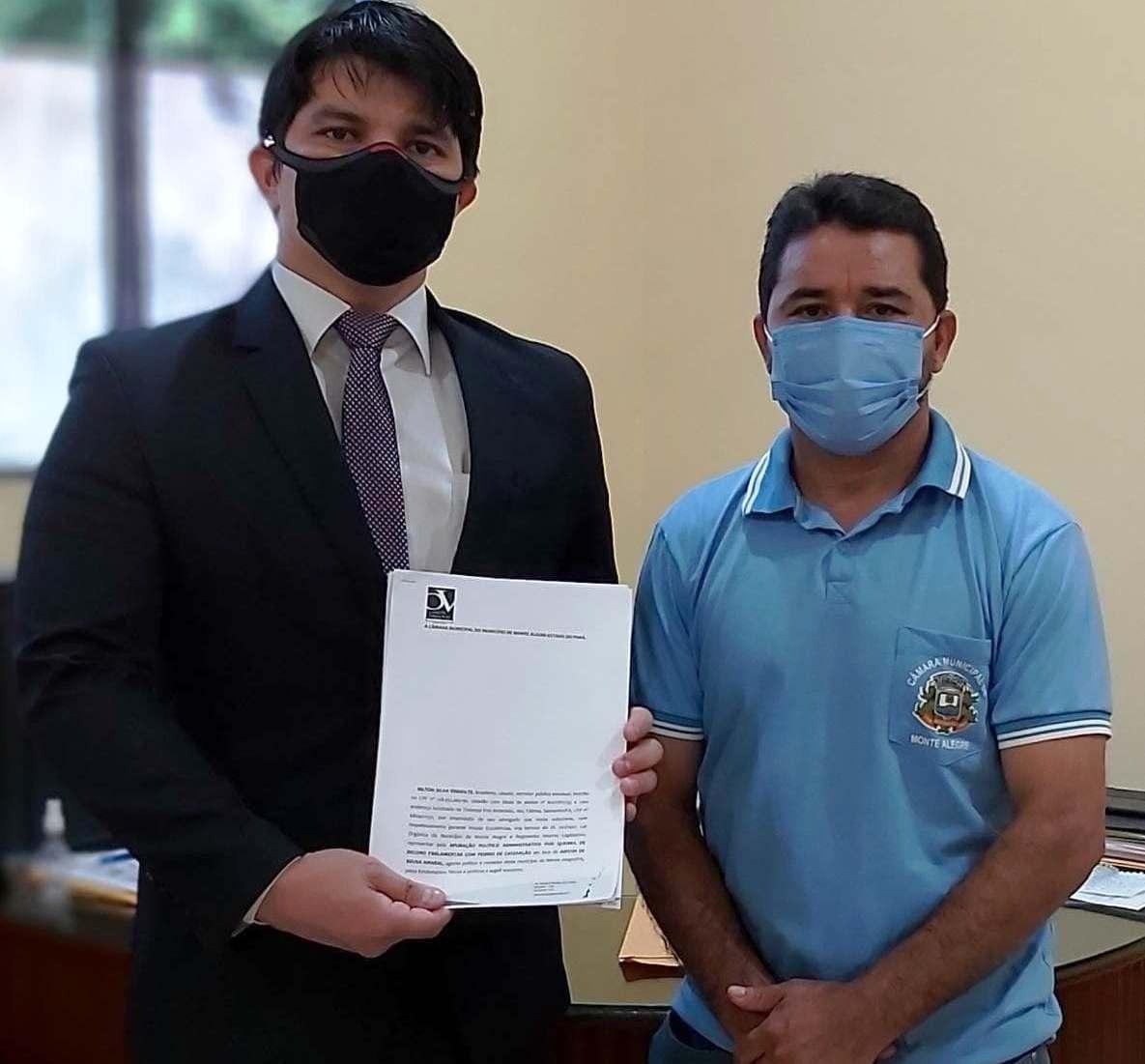Advogado protocola pedido de cassação de vereador que ameaçou oficial de Justiça