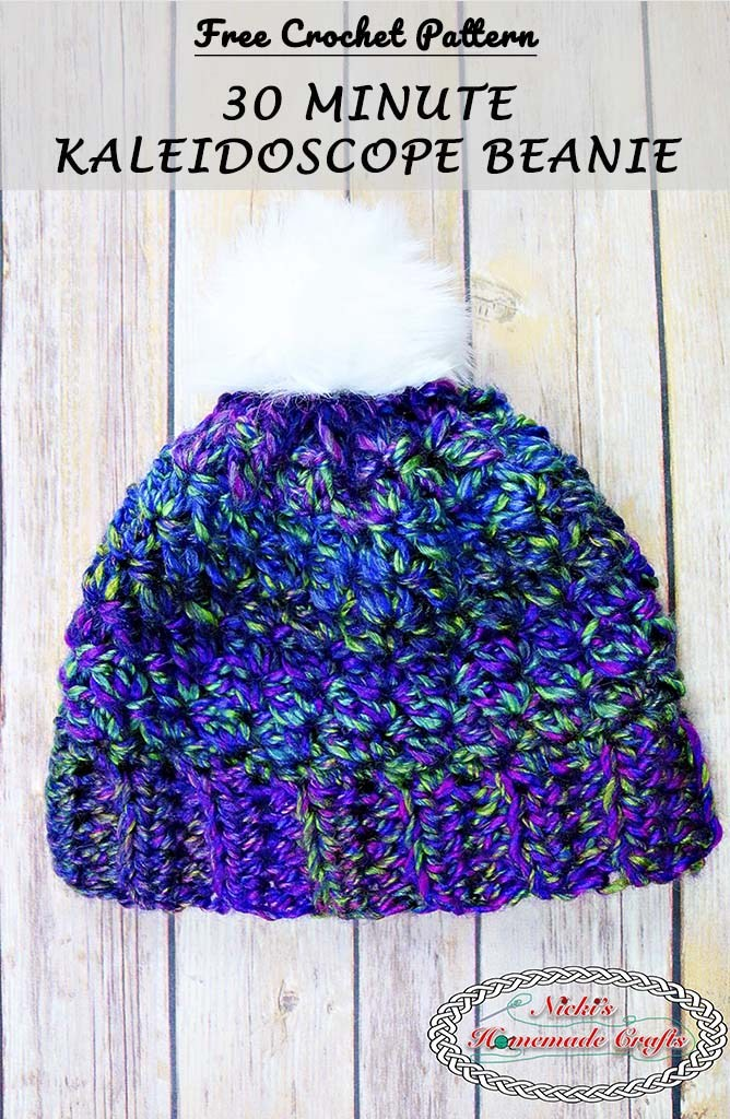 If you re looking for something quick to crochet - this is the hat for you!  It can be made in just 30 minutes (maybe an hour if you ... 7ec822df3e6