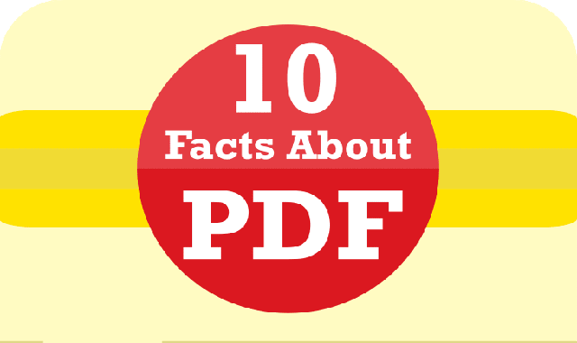 10 Facts About PDF #infographic
