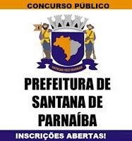 Concursos em Santana de Parnaíba-SP