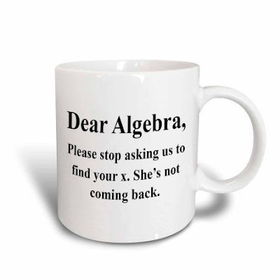 Dear Algebra please stop asking us to find your