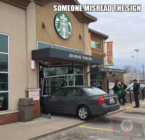 Someone Misread the Sign…