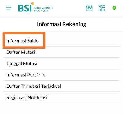 Info Saldo BSI