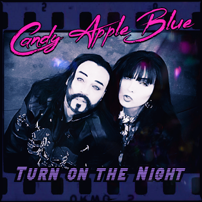 candy apple blue turn on the night