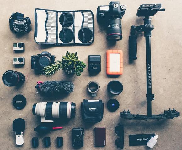 alat alat dalam fotografi