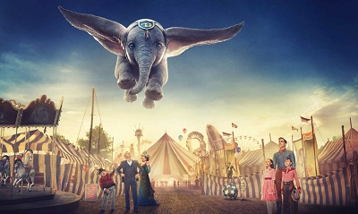 Dumbo HD 1080p poster box cover