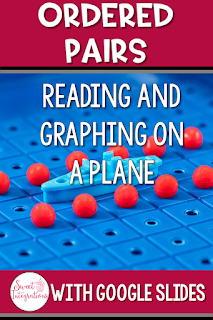 Did you love playing Battleship as a child? In this blog post, I've provided fun websites and Google Slides activities for teaching Reading and Graphing Coordinates on a plane. Your 3rd, 4th, and 5th graders will love learning about ordered pairs during math  in an engaging way. #orderedpairs #coordinates #fifthgrademath