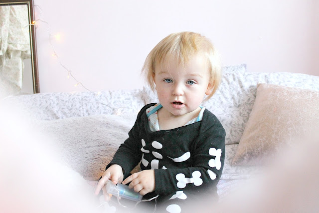 Toddler at seventeen months Halloween update