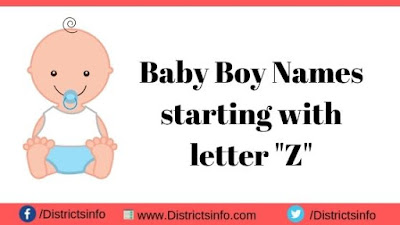 Baby Boy Names starting with letter Z