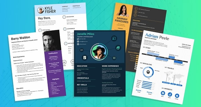 cv templates build resume easy cover letter creator