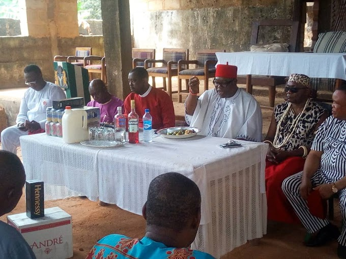 IGBO'S UNITY IS AT THE DOORSTEP OF OHANAEZE -- Igwe Nnabuife