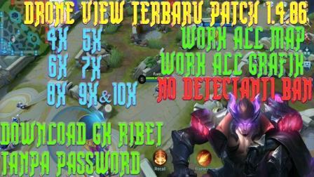 Update Script Drone View Terbaru Mobile Legends Season 17 Patch 1.4.86 (Yu Zhong)