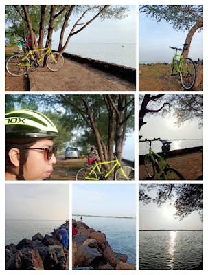 sepeda pantai marina semarang