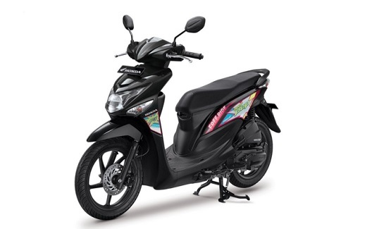 Honda Beat Pop Warna Hitam