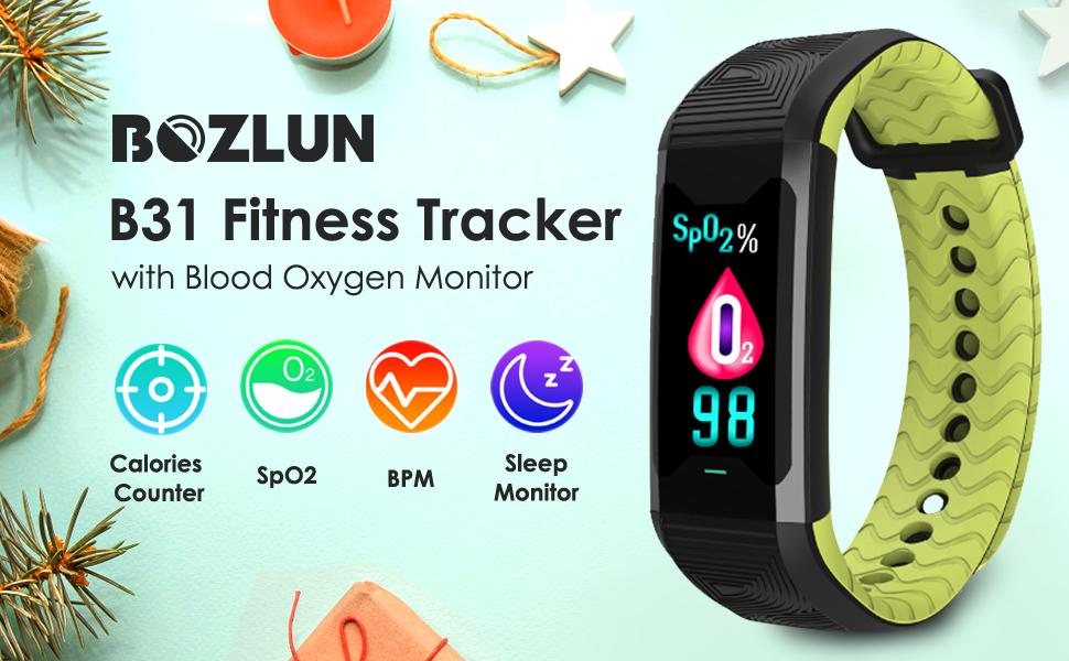 BOZLUN HRV Activity Tracker Watch