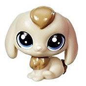 Littlest Pet Shop Series 1 Teensie Pets Hatter Bunnyton (#1-131) Pet