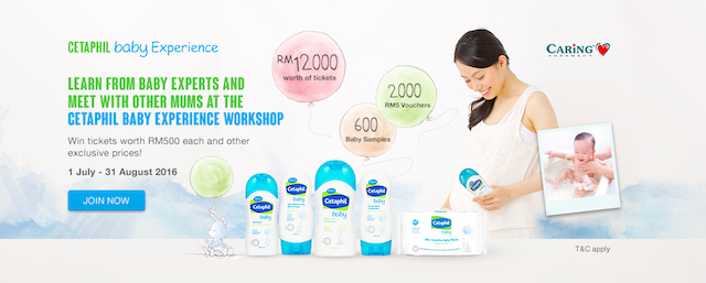 CETAPHIL BABY Experience Contest on their FB page