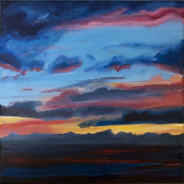 Современный британский художник. Jacqueline Hammond