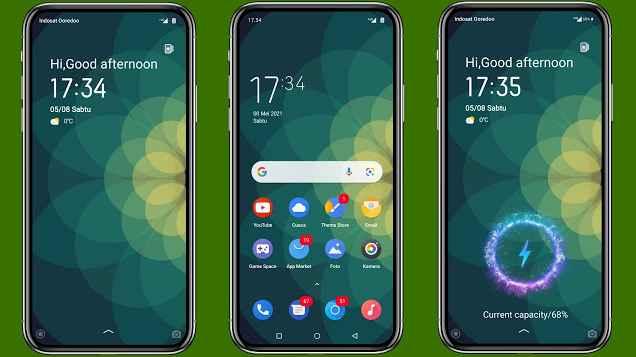 Download Android Pie Theme Realme & Oppo 2021