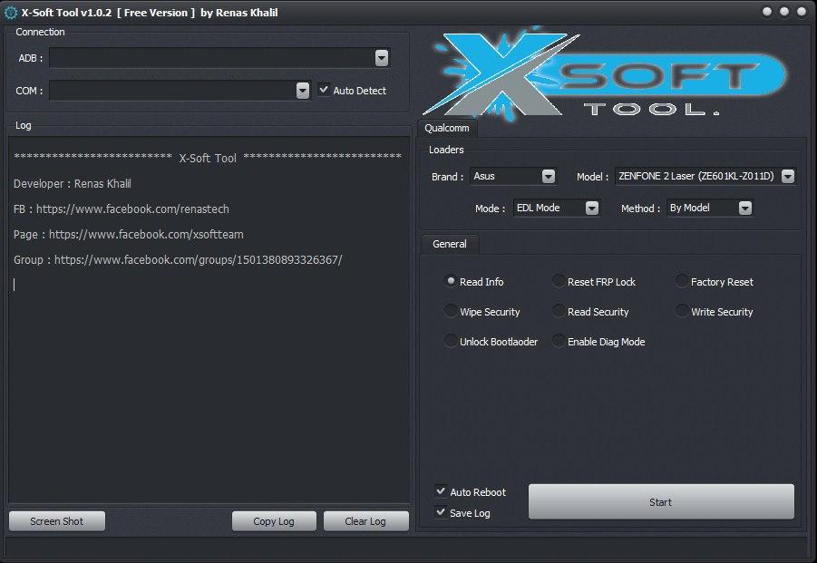 X-Soft Tool v1 0 2 Released! Free for All Lenovo, Vivo, Asus