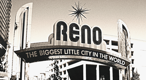 reno nevada neon sign