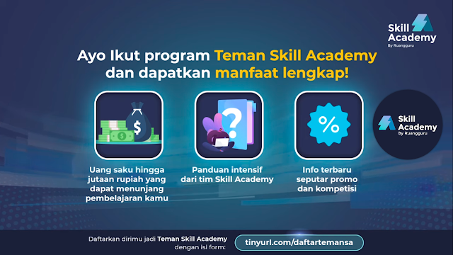 manfaat program referral teman skill academy