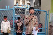 Ketua RW 04 Kelurahan Jembatan lima Pimpin Upacara 17 Agustusan