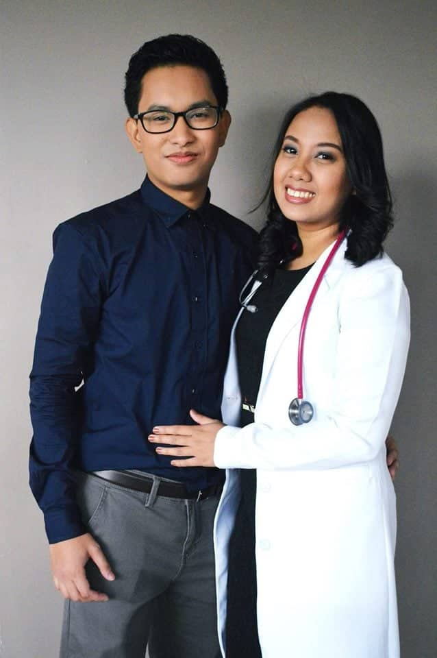Couple tops Physician Licensure Examination together