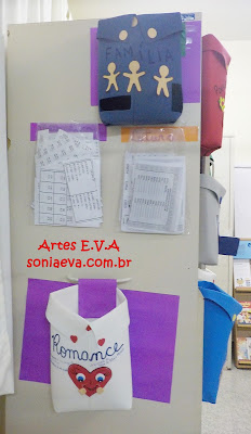 Decoração Sala de aula em E.V.A