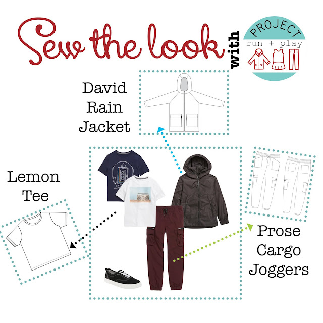 Trendy boys outfit for fall from Project Run & Play