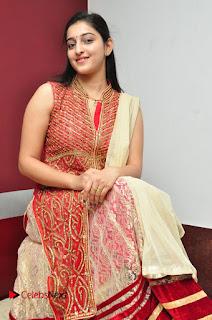 Actress Mouryani Pictures at Ardhanari Success Meet  0017.JPG