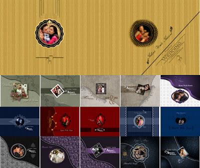 Karizma Wedding Album Cover Page 12 x 18
