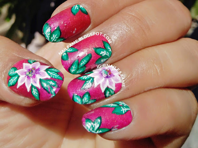 ONE STROKE FLOWER NAILART BORN PRETTY STORE REVIEW NAILFAME
