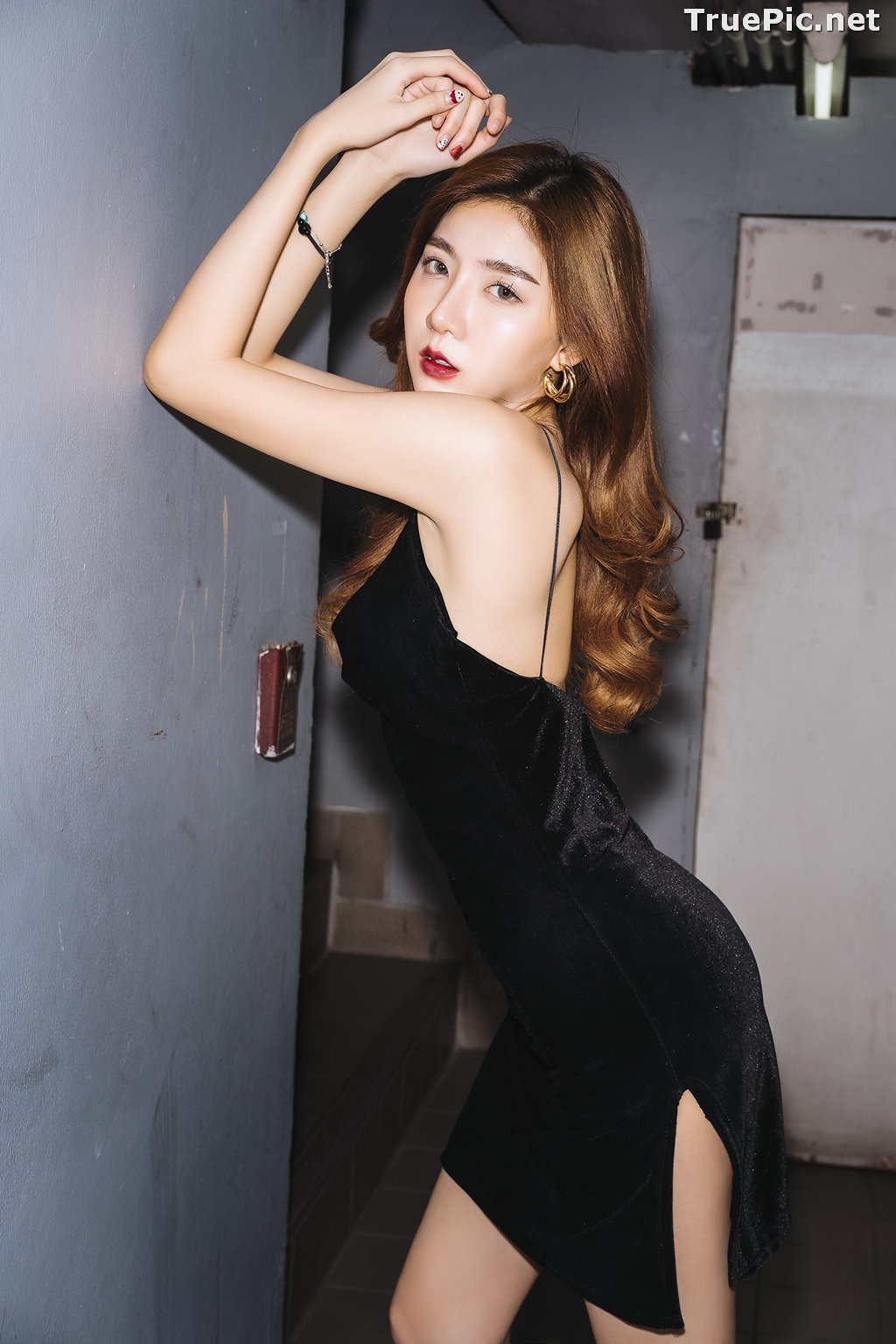 Image Thailand Model - Sasi Ngiunwan - Black For SiamNight - TruePic.net - Picture-31