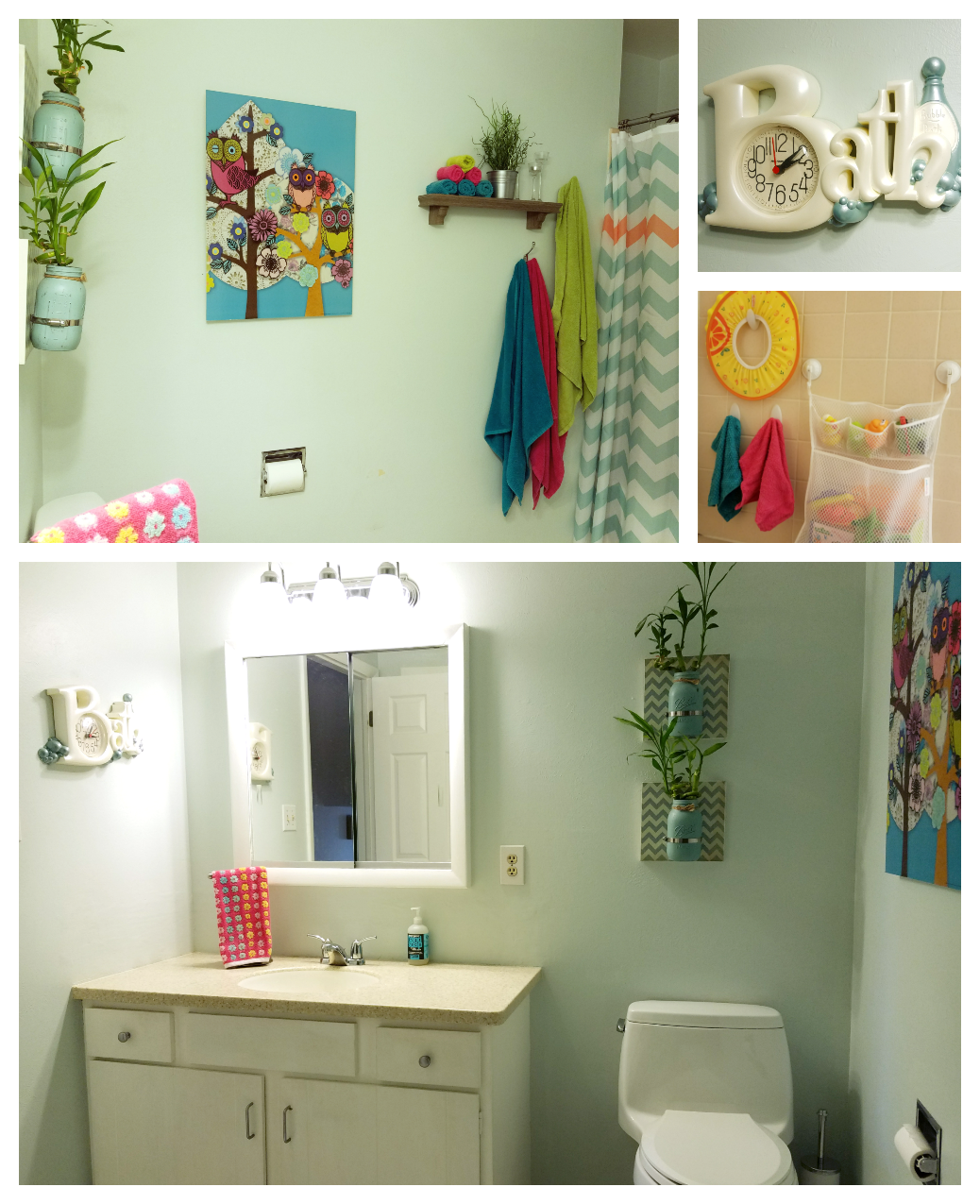 Trend bright colors and patterns cheery paint color child locks on bathroom cabinets bathroom