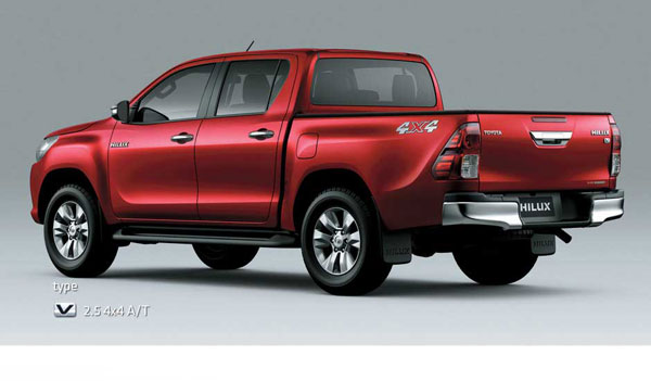Exterior All New Toyota Hilux D Cab