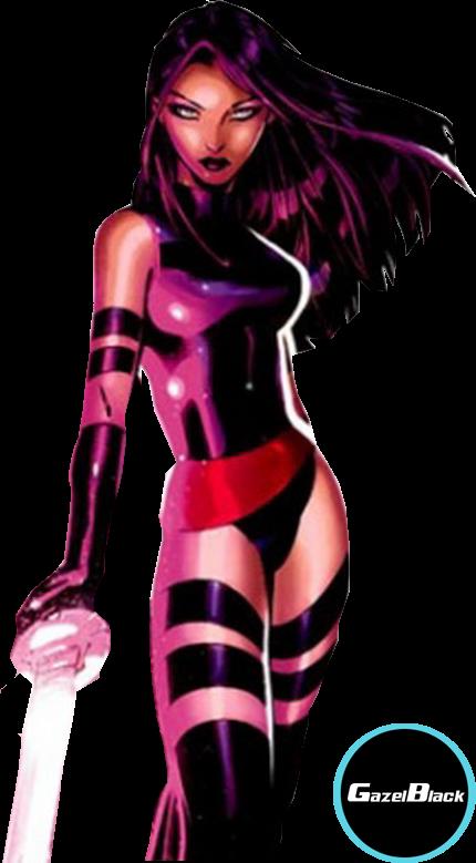 """render Psylocke (Elizabeth """"Betsy"""" Braddock)"""