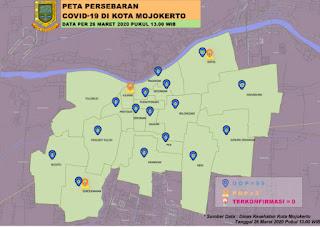 Update Covid-19, Status ODP di Kota Mojokerto Meningkat Jadi 99