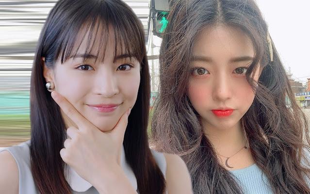 Японка (слева) и кореянка (справа) думают над избытком личного пространства у своих мужчин [фотоколлаж]