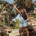 Tennis Star Serena Williams shows off baby bump as she visits Disneyland