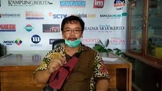 Ke Posko Pengaduan Covid-19 PWI Mojokerto, Pedagang Makanan Kaki Lima Mojopahit Keluhkan Pembatasan Jam Dagang