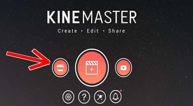 Cara Download Asset (Transisi, Font, Efek, dan Overlay) di KineMaster Apk