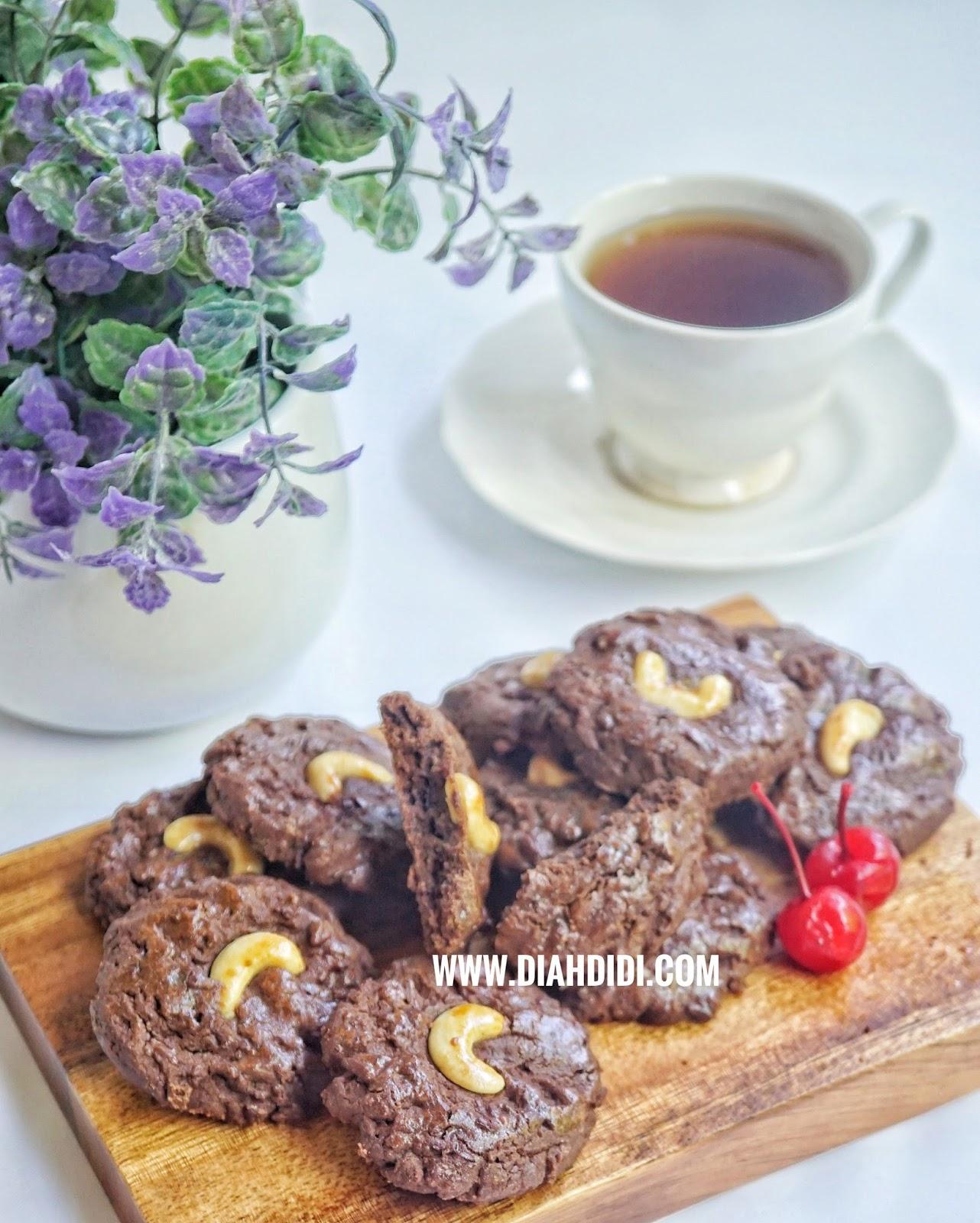 Diah Didi S Kitchen Kue Kering Choco Mede Kue Kering Resep Masakan Masakan